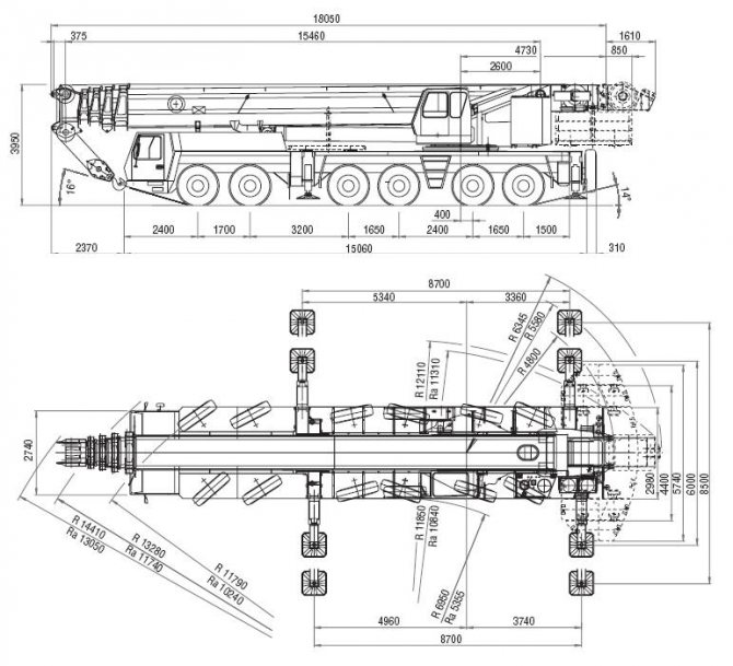 автокран 300 тонн GROVE GMK 6300