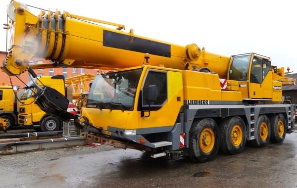 Автокран 60 тонн Liebherr LTM 1060 в аренду
