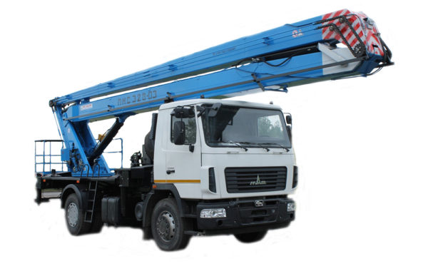 Автовышка 28 метров ПМС-328 МАЗ-5337