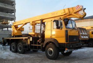 Услуги вышки АГП в Минске