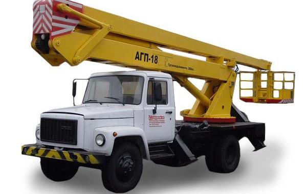 Услуги автовышки АГП-18 18 метров Минск