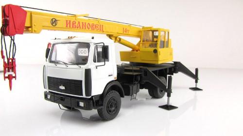 Автокран Ивановец14 тонн в аренду КС 3577-3