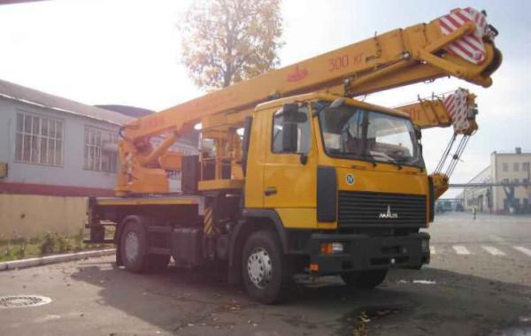 МАЗ АГП 30 аренда, Аренда автогидроподъемник 30 метров