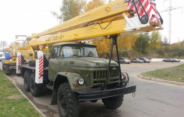 Автовышка ВС 222.01 на зил 131