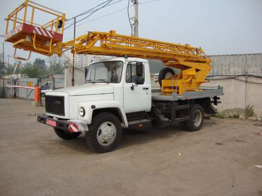 Автовышка ГАЗ 33098 АП-18